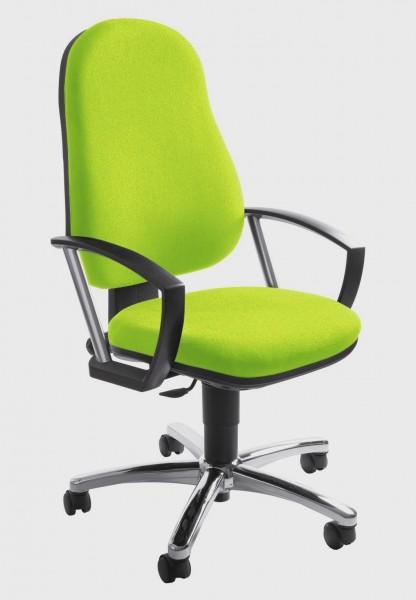 Topstar Drehstuhl Bürostuhl Action Point grün mit Armlehnen 7039AG05
