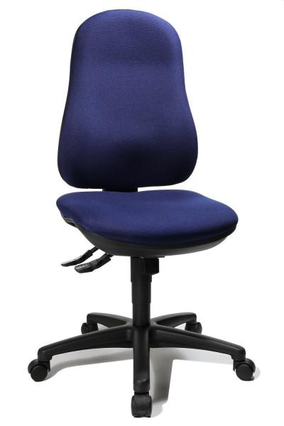 Topstar Drehstuhl Bürostuhl Support SY blau 8550G26 bequemer Bandscheiben Drehstuhl