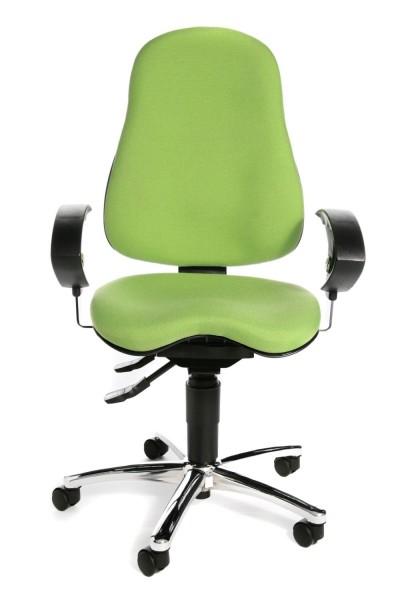 Sitness 10 mit höhenverstellbarer Armlehne U G05 Grün