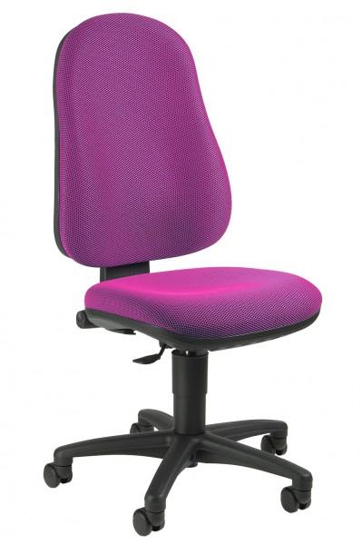 Topstar Drehstuhl Bürostuhl Point 50 rosa mit Beckenstütze 7020BB1