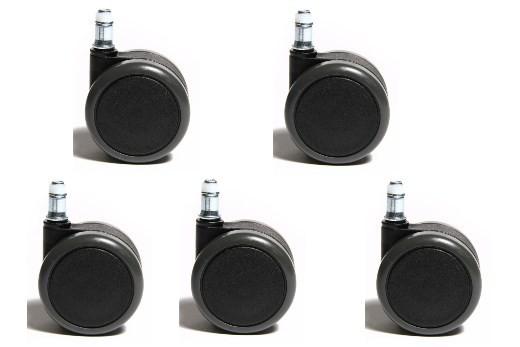 Hartbodenrollen 11 mm Stiftdurchmesser