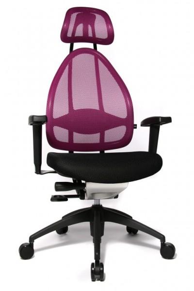 Bürostuhl Drehstuhl Open Art 2010 schwarz/lila von Topstar