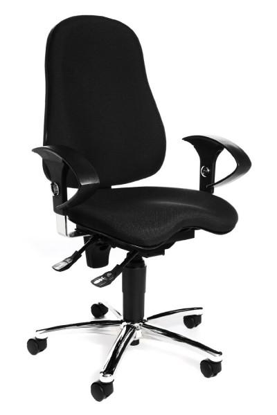 Topstar Drehstuhl Bürostuhl Sitness 10 schwarz Body-Balance-Tec SI59UG20