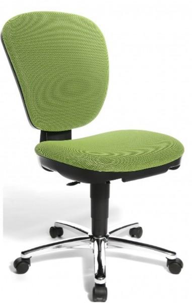 Topstar Kinder Drehstuhl Bürostuhl Kiddi Star grün, Bezug Netzgewebe 6220BB5