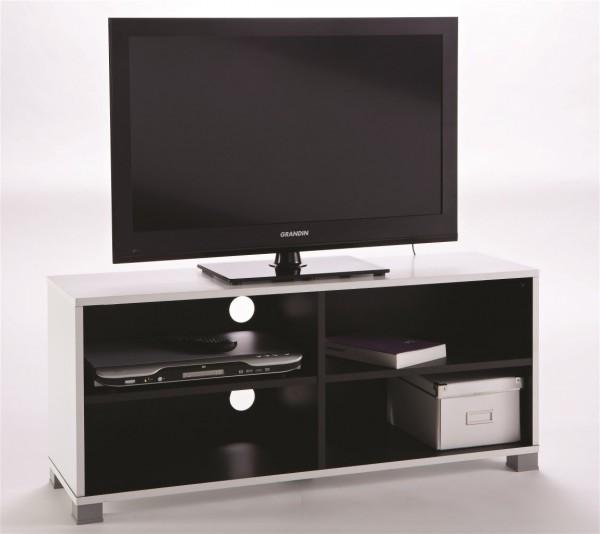 TV Möbel Lowboard Fernsehtisch TV Regal Medienmöbel Grafit 101 cm breit 453218