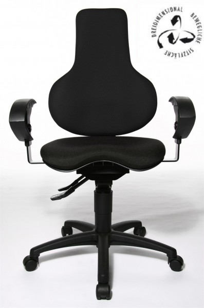 Topstar Drehstuhl Bürostuhl Sitness 35 Body-Balance-Tec ST30UBC00