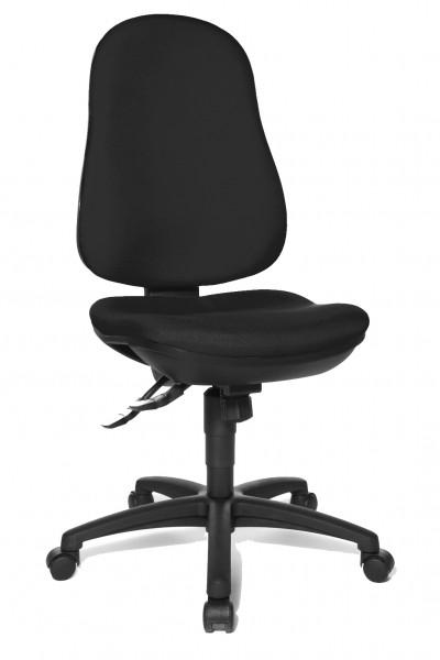 Topstar Drehstuhl Bürostuhl Support SY schwarz bequemer Bandscheiben Drehstuhl 8550G20