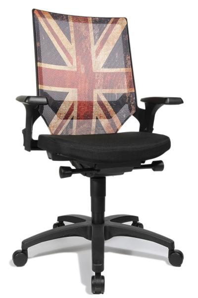 Bürostuhl Drehstuhl Autosyncron Urban United Kingdom von Topstar