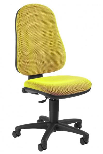 Topstar Drehstuhl Bürostuhl Point 50 gelb mit Beckenstütze 7020BB9