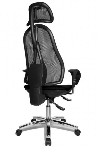b rostuhl drehstuhl open point sy deluxe schwarz mit. Black Bedroom Furniture Sets. Home Design Ideas