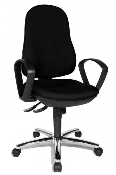 Bürostuhl Drehstuhl Synchro Steel mit Armlehne von Topstar