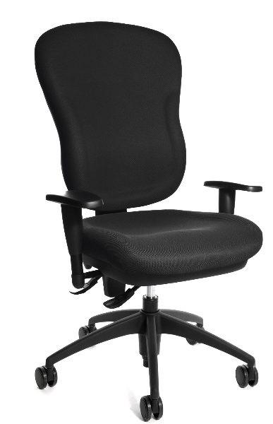Topstar Drehstuhl Bürostuhl Wellpoint 30 SY schwarz mit Armlehnen  8060KG20
